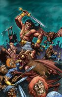 Conan and Janissa by Powell by KevinJConley1