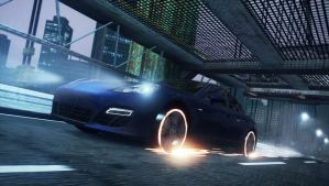 Need For Speed Most Wanted: Flaming Panamera P.2 by MRAFPhotoworks