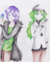 N and Garry by MonochromeSky16