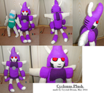 Cyclonus Plush by Crystal-Dream