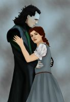 + Loki x Belle + Beauty and the Beast by BLOOD-and-LUST-87