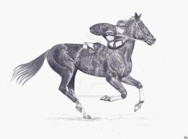 Phar Lap by bleistiftkind