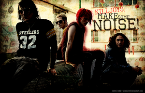 My Chemical Romance wallpaper by tavinhovid