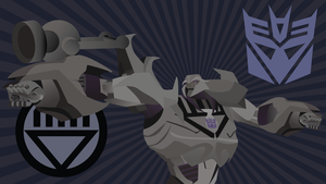 Black Lantern Megatron Wallpaper by CodeAndReload