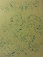 Doodles by LeAnimeFiend