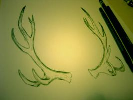 antlers by CleverSquid