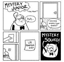 Mystery Junior number two by moosimus