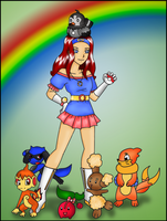 Pokemon Trainer JC by JBarnzi88