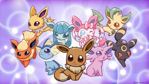 Eeveelution by J8d