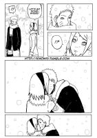 NaruSaku - Kiss in the Snow by NaruSasuSaku91