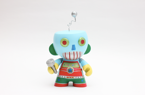 Robot Munny by spilledpaint88