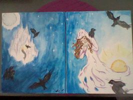 The 7 Ravens by ImaginationGoingWild