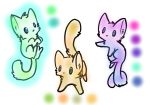 Free Adoptable: Kitties (CLOSE) by IreinicFantasy