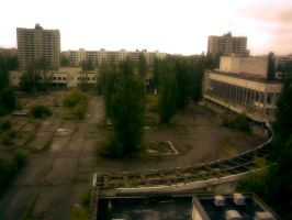 Pripyat Square by Rakenesh