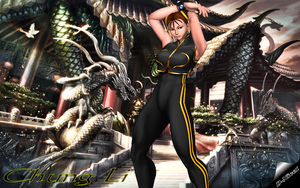 UMVC3: Chun-Li's Home Dojo by Krypto4CatSuits