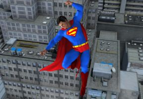 Super Friends 2: Superman by kevmann