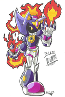 *SONIC OC*:  Blaze Woman by Armpit-Warrior