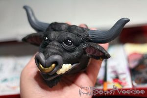 WIP tauren doll paintjob by BeastVoodoo