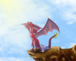 To Learn to Fly by DraconaVampira