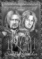Sons of Gondor by enednoviel