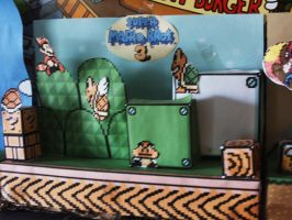 super mario bros 3 paper craft by crash-fm
