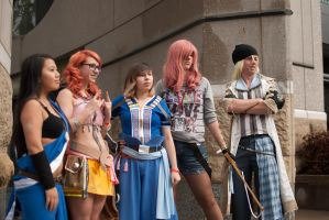 Final Fantasy 13 Group Again by RaindropCosplay