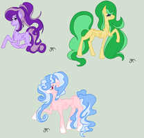 MLP Adopt: Fluffy Skinny Ponies (AUCTION) by ChopstickGirl241