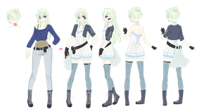 Crystalized Music - Vocaloid OC by kuloi-no-chloe