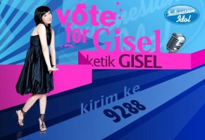 Vote for Gisel by caesarleo