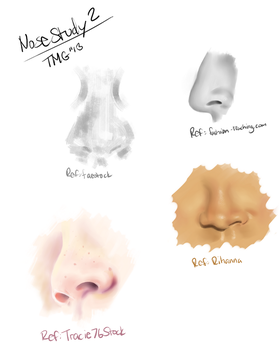 Nose Study No.2 by Room-382