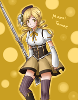 Mami Tomoe Doodle by adricarra