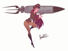 Dasha Rocket Launcher by PiratoLoco