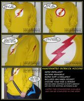Kid Flash Hoodie - sidekicks need love too! by nekojindesigns