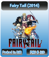 Fairy Tail (2014) - Anime Icon by Rizmannf