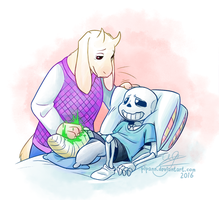 Soriel Week Day #3 by Pipann