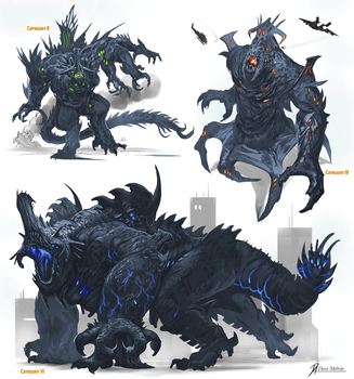 Kaiju-One by Davesrightmind
