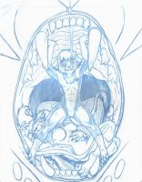 Pencils for Extinctioners 18 cover by Ebonyleopard