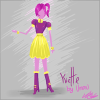 Fashion design: Yvette Dress by UmmuVonNadia