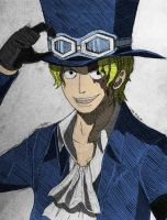 Sabo (colored) by Izham-ZK9
