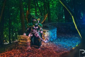 Maiev Shadowsong the Warden - Cosplay by emilyrosa