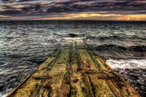jetty hdr by marklewisphotography