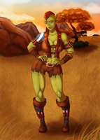 C: In the Barrens by FatVonD