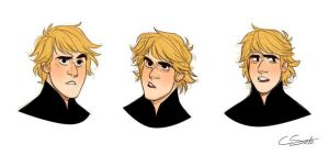 Kristoff faces by onlyahalfbreed