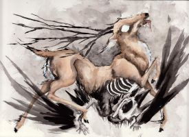 The Gods of Death by fainting-goat