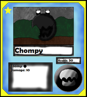 Chompy Card (Adopt) by Dianamond