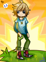 Redraw: PewDiePie Fan Art: Scibblenauts by TeenageLover101