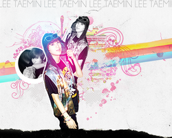 Lee Taemin Wallpaper Request by c3minut3s