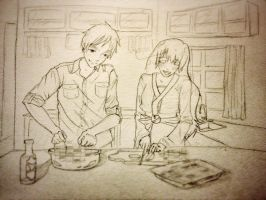 England And Tokyo: Memory's Of Cooking Together by C-cTwo