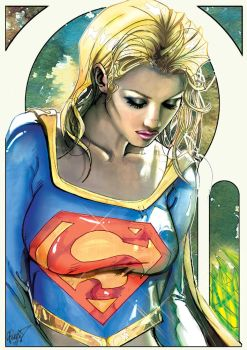 Supergirl,but.... by J-Estacado
