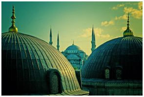 Blue Mosque by vastavnic